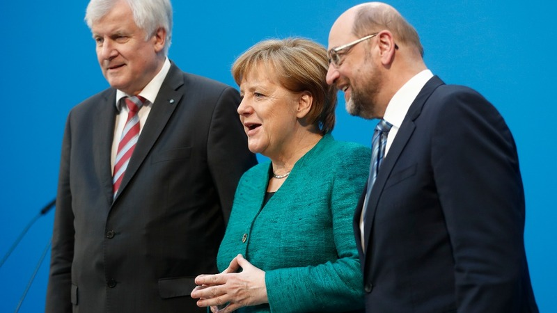 Merkel's coalition deal draws fire from own party
