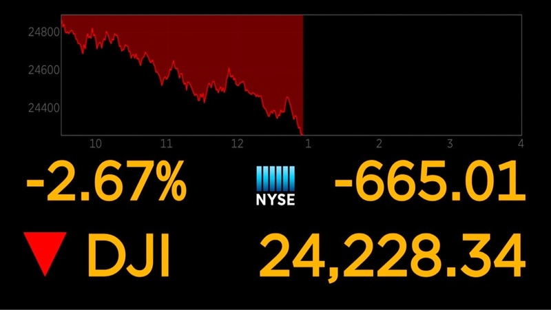 Wall Street takes another tumble