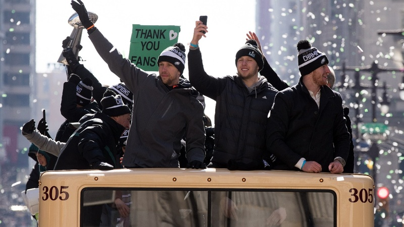 INSIGHT: Foles on Super Bowl win, 'greatest thing I've ever done'