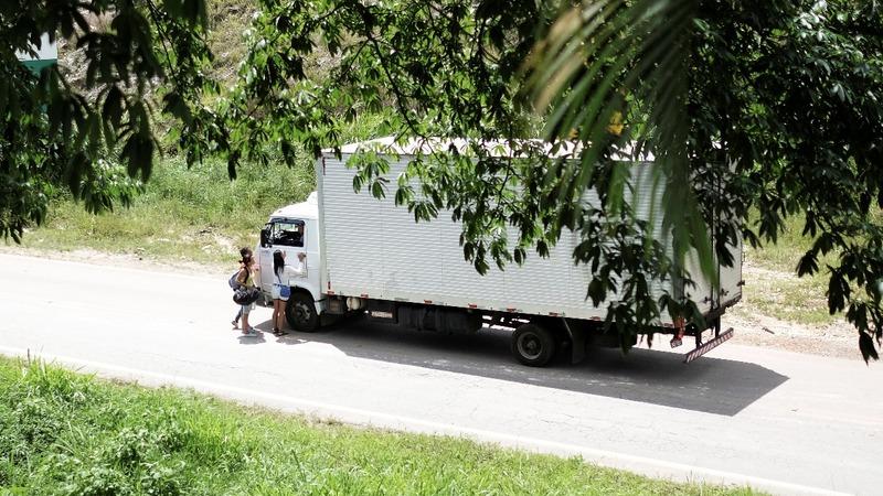 The dangerous life of a Venezuelan trucker