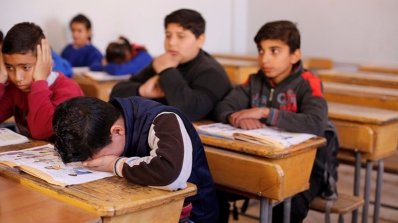 Years late, Syria's children of war learn to read and write
