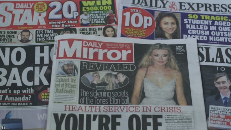 Daily Mirror snaps up rival UK tabloids