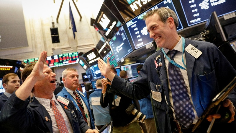 Wall Street ends a wild week with a rally