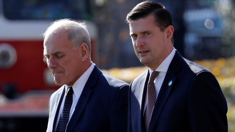White House staff in turmoil after another messy exit