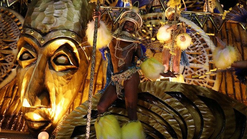INSIGHT: Carnival dazzles and delights in Rio's Sambadrome