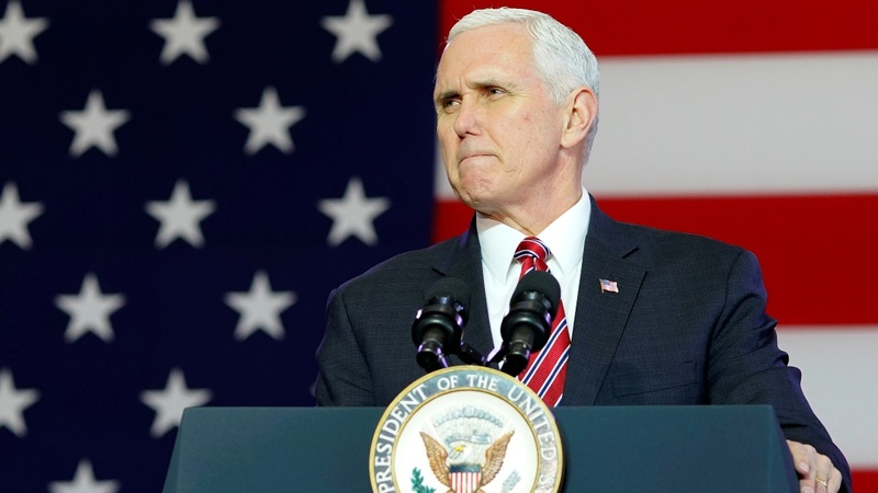 Pence raises prospect of talks with North Korea