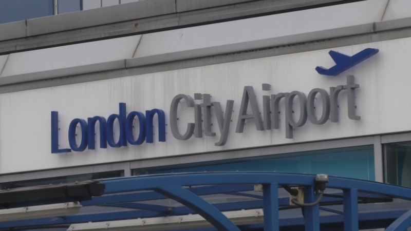London airport shut after WW2 bomb found