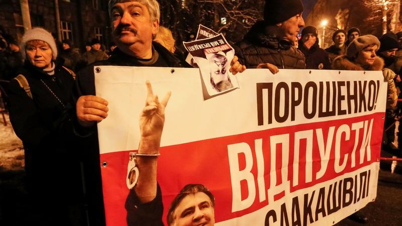 Ukraine deports opposition leader Saakashvili