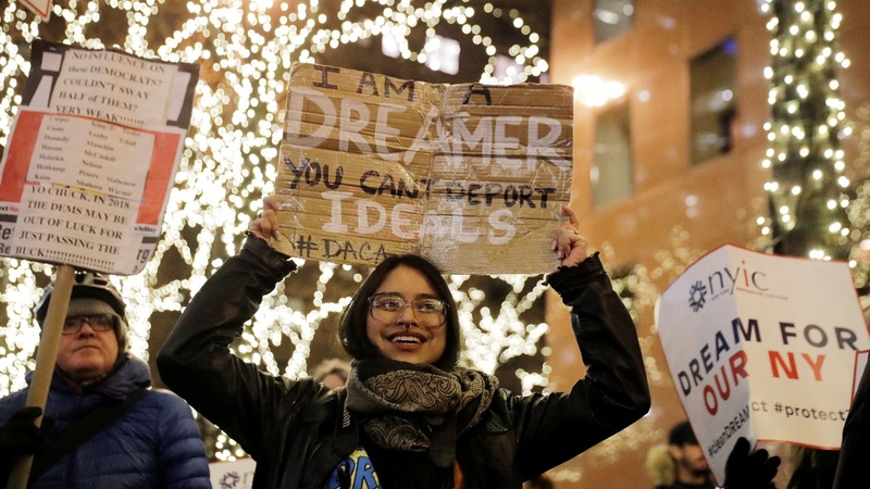 In rare move, U.S. Senate debates fate of 'Dreamers'