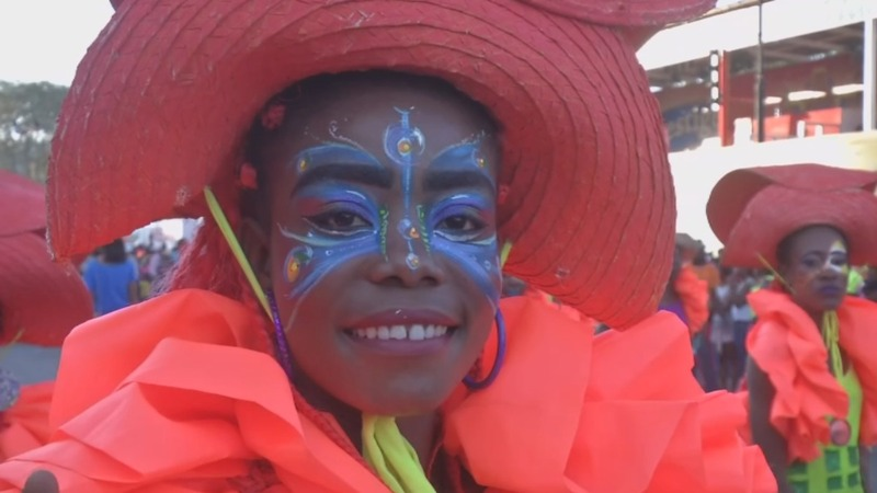 Haiti gets into the Carnival groove