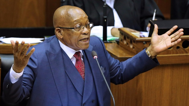 I'm innocent, says South Africa's besieged Zuma