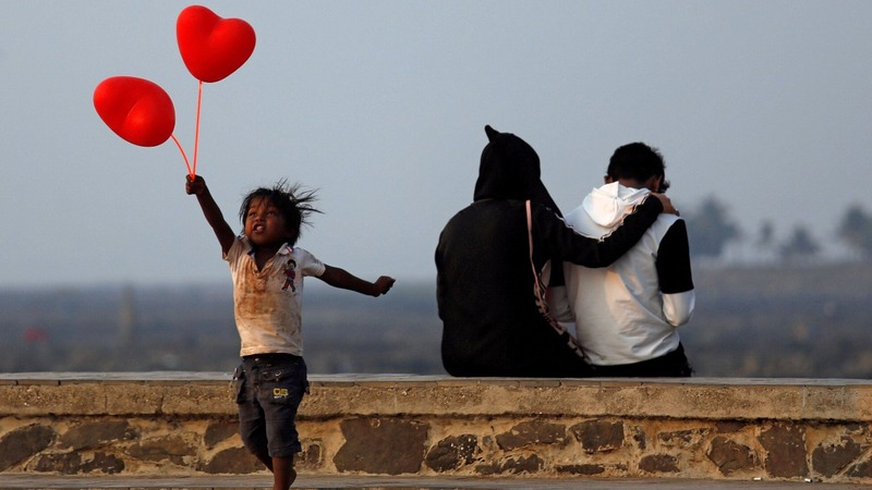 How the world celebrated Valentine's Day