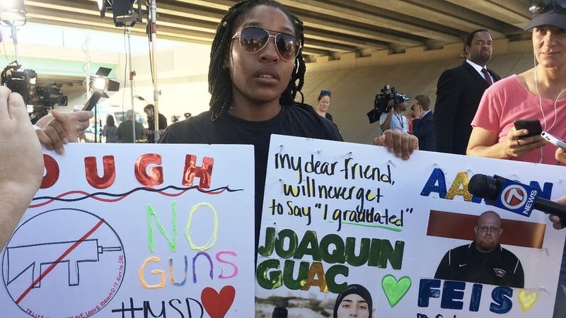 VERBATIM: 'I just want justice' -Florida HS student