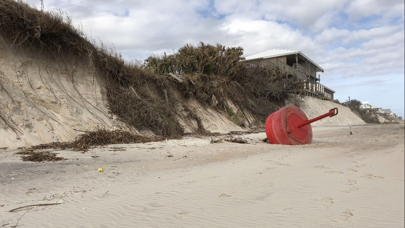 Storms deepen Florida's beach sand losses