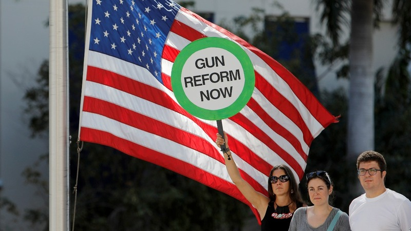 INSIGHT: Anti-gun protesters rally after Florida shooting