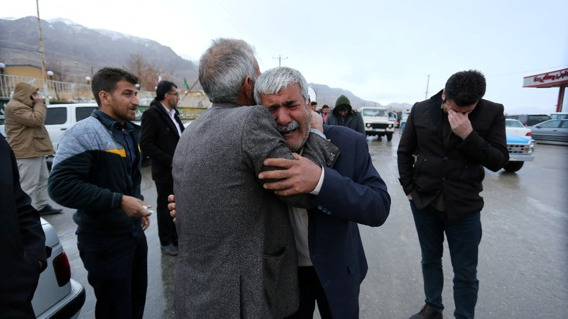 Bad weather hampering Iran plane crash search teams