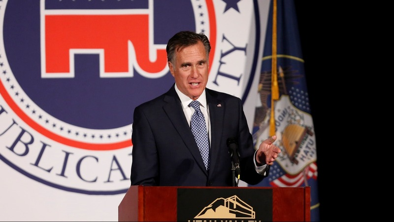Mitt Romney's Senate run gets Trump endorsement