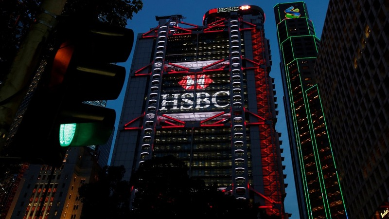 HSBC reports a 142% pre-tax profit jump