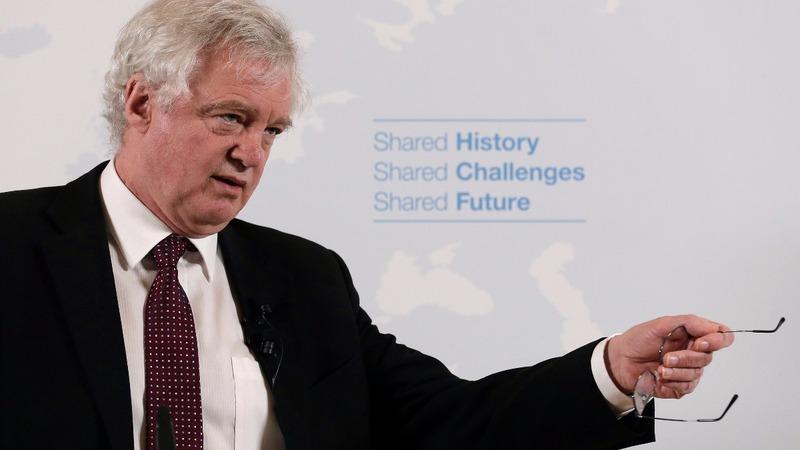 VERBATIM: Brexit minister rejects 'Mad Max' economy