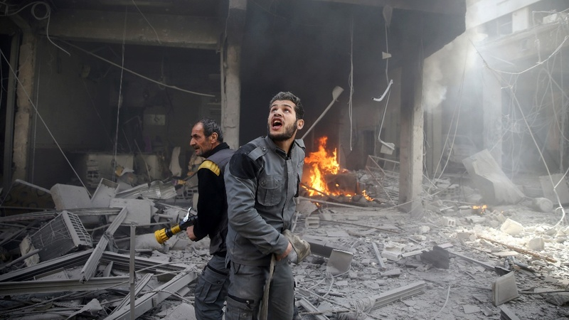 Syria's Ghouta faces worst death toll in years