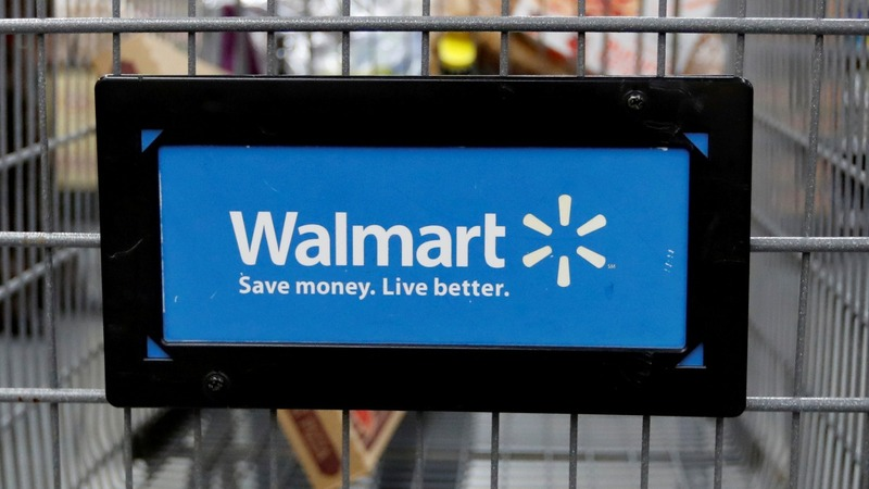 Walmart sinks as online sales growth slows