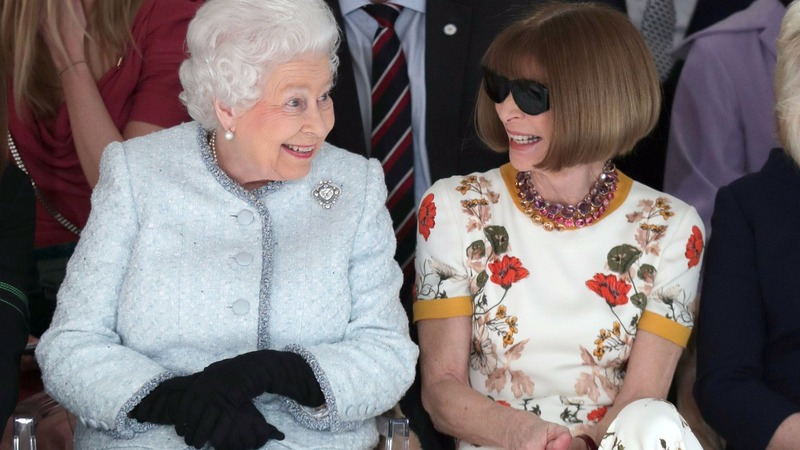 INSIGHT: Queen brings royal touch to London Fashion Week