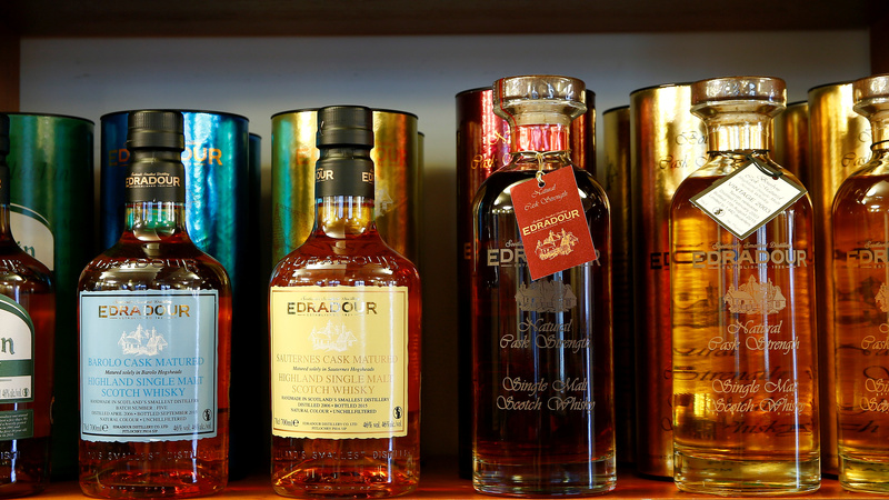 Scottish whisky distillers hedge bets on Brexit