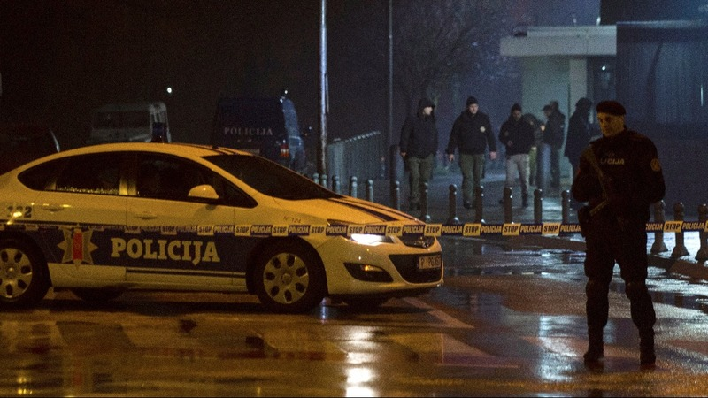 'Hand grenade' thrown at U.S. embassy in Montenegro