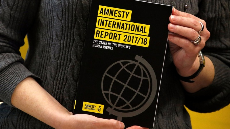 World leaders are formalizing hate - Amnesty