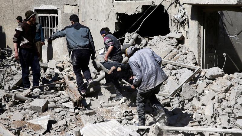 "U.N. fears ""massacre"" in Syria's Ghouta"