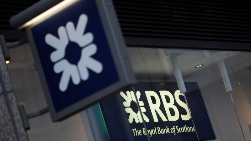 Royal Bank of Scotland posts first profit in a decade