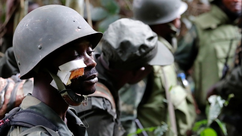 Smoking ruins of Islamist militants' Congo jungle base