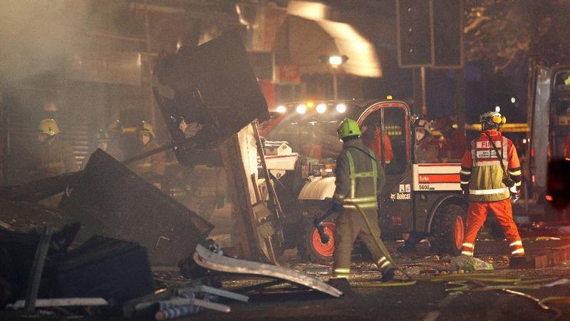 Deadly UK blast kills at least five people
