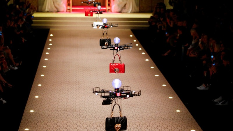 INSIGHT: Dolce & Gabbana bring drones to the runway