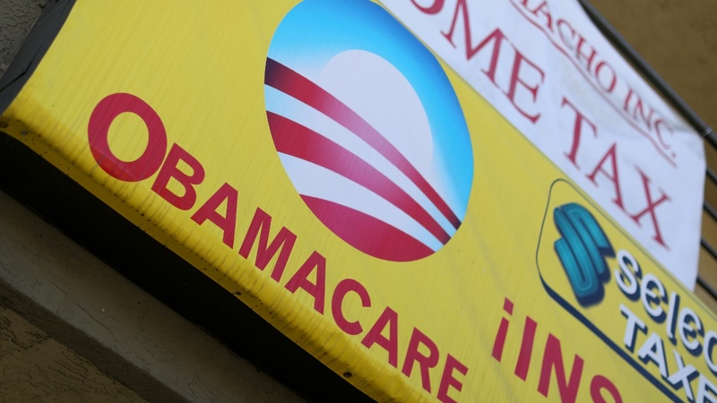 Twenty states sue U.S. government over Obamacare