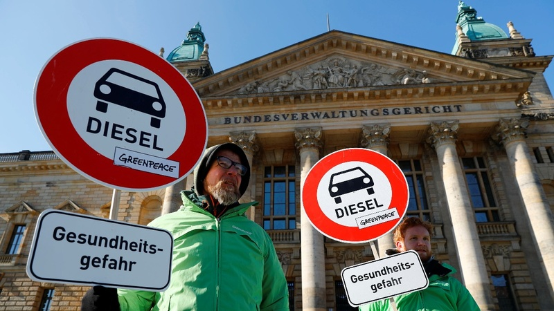 German court backs city bans on diesel cars
