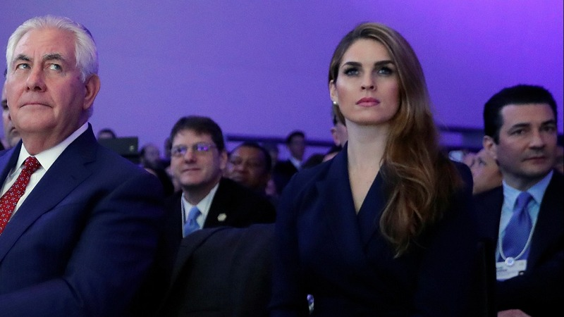 Hope Hicks dodges dicey topics in Russia probe