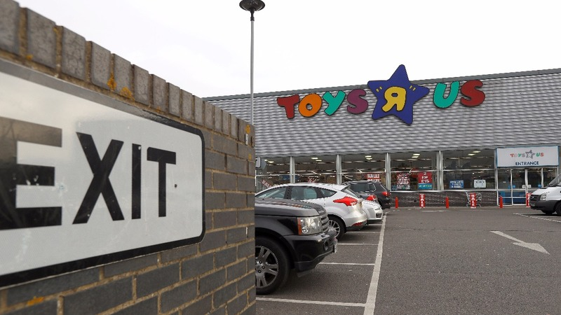 Toys 'R' Us goes into administration in the UK