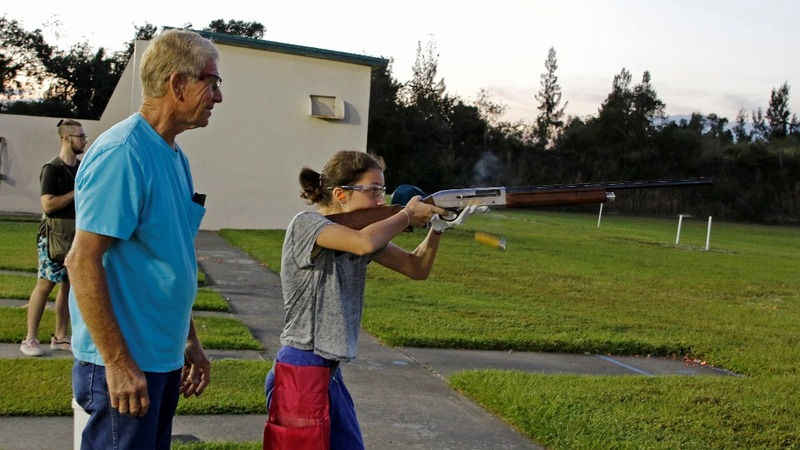 Teens at Florida shooting club defend guns