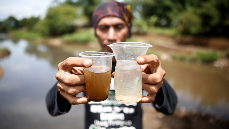 Indonesia fights toxic waste in a lifeline river