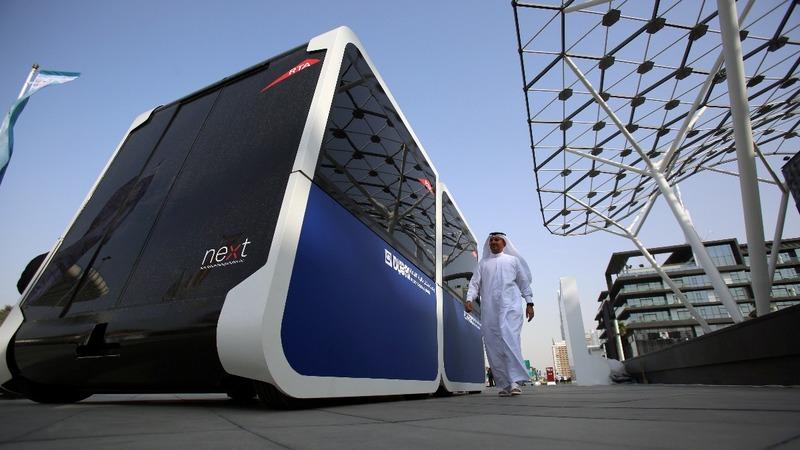 Driverless pods: Dubai's latest futuristic push