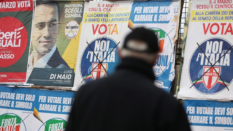 Voting gets underway in Italy's election