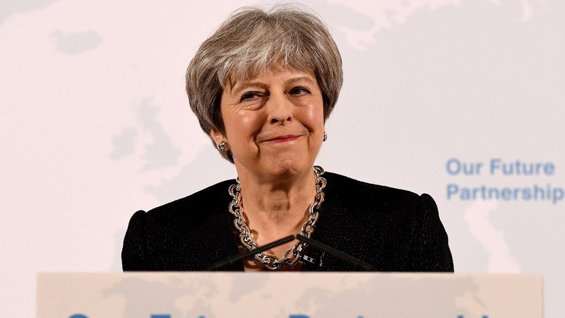 Theresa May outlines her Brexit vision