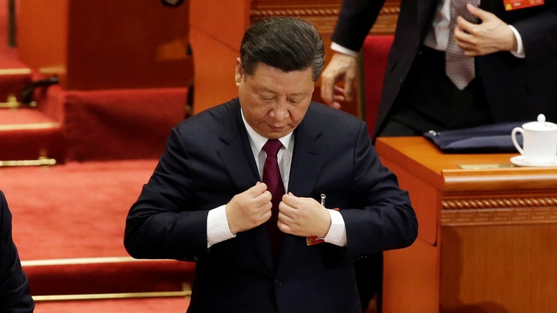 Xi Jinping's power looms over China's parliament