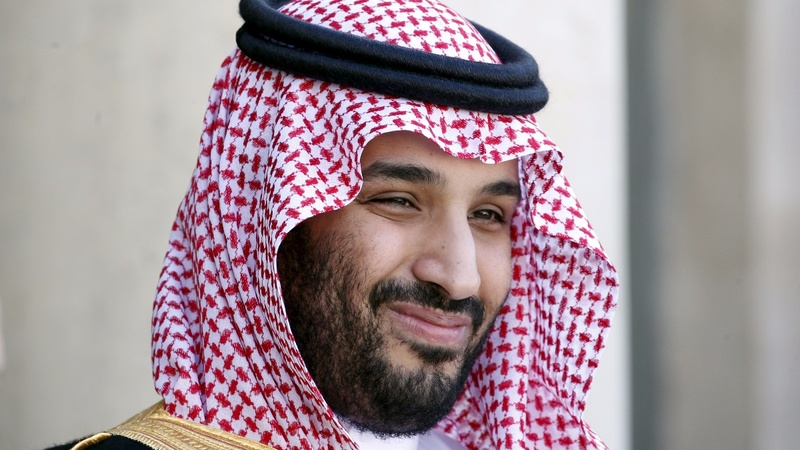Saudi Crown Prince courts investment in London