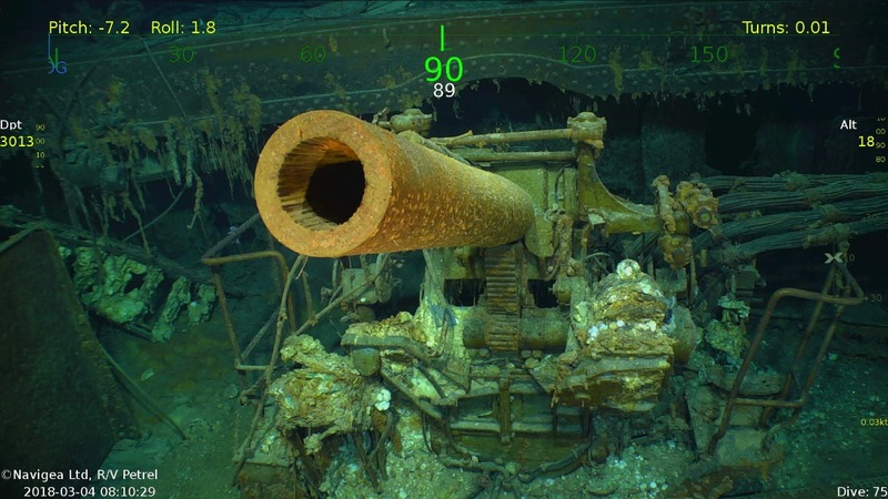 Aircraft carrier sunk in WWII found in the Coral Sea