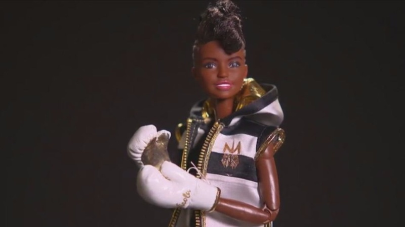 British boxing champ Adams inspires Barbie