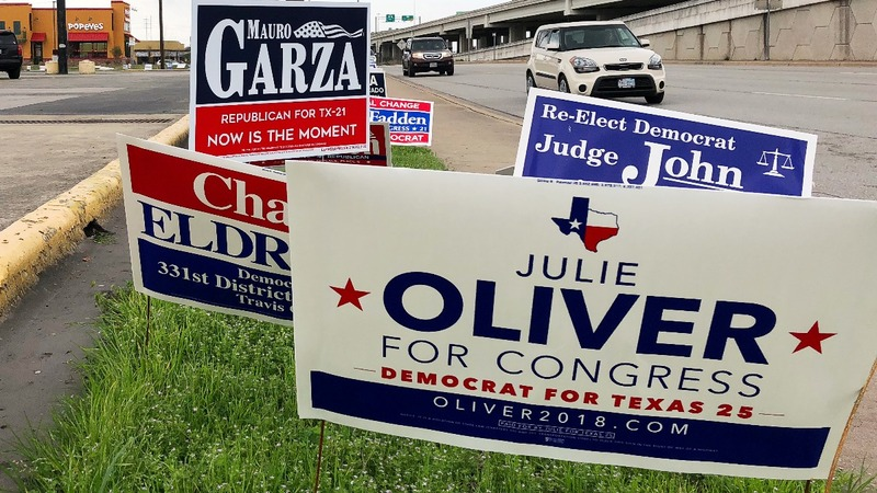 Strong turnout in Texas primary gives Dems hope