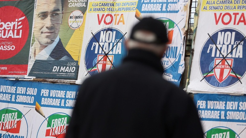 Italy turns its back on the establishment