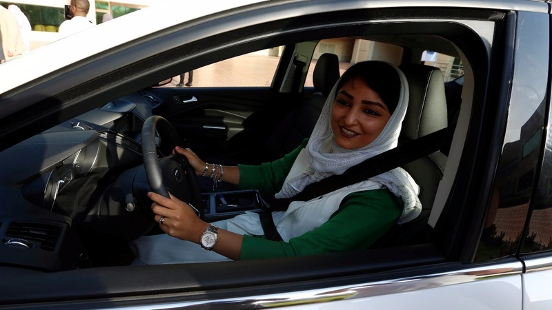 Saudi women in the driving seat at last